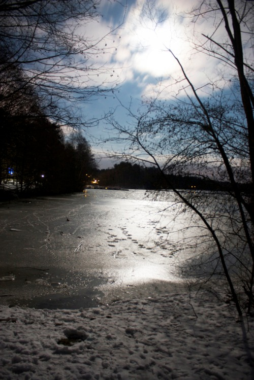 Snow-lake